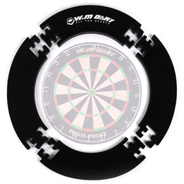 Winmax EVA Surround per Datboards 4 pezzi Colore nero Eva Wall Protector Dart board Surround per Dartboard setole 18 pollici in Offerta