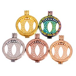 mi moneda 33mm chain NZ - New Arrival Mi Moneda pendant 33MM Locket Frame 5 colors Optional opening floating Lockets Charm For women DIY Jewelry