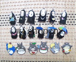 $enCountryForm.capitalKeyWord NZ - Wholesale Popular Cartoon Japanese anime Ghosts Totoro DIY Metal pendants Charms Jewelry Making Gifts p8