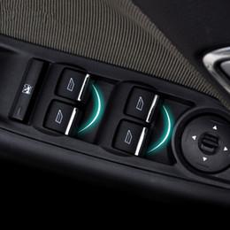 $enCountryForm.capitalKeyWord NZ - 7pcs set Car Window buttons trim decoration accessory suitable For Ford Focus 3 4 MK3 MK4 Fiesta Ecosport
