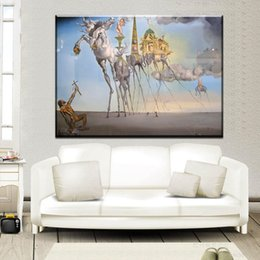 Dali Arts NZ - ZZ2059 The Temptation of Saint Anthony Salvador Dali Art canvas Poster Print Abstract Pictures Living Room Wall Decor