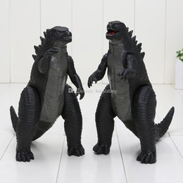 China 2pcs set Movie figure Godzilla Toy Figures pvc action figure Feet and Hands Movable Godzilla Movie model Doll Toy 18cm suppliers