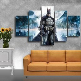 $enCountryForm.capitalKeyWord Canada - Batman Poster Modern Fashion HD Print Abstract Figures Painting Wall Art Pictures Home Living Room Decoration 5 Pieces