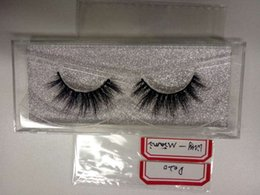 $enCountryForm.capitalKeyWord Canada - Free Shipping 1pair lot 100% Real Siberian 3D Mink Full Strip False Eyelash High Top Quality Eyelashes Mink Lashes Extension