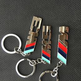 Envío gratis M M3 M5 Logo Metal Auto llavero llavero llavero Llavero Llavero Llavero para BMW M serie