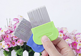Steel Products Canada - 50pcs lot Wholesales 100% orginal package Anoplura flea comb pins cheopis cootie Stainless Steel Lice Combs