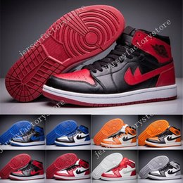 Barato Tecido De Nylon Lycra Barato-2017 Cheap Retro 1 TOP 3 OG Basketball Shoes Homens, Retros 1s Mens Shattered Backboard mens sapatos basquete Baskets Sneakers Shoes US 7-13