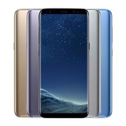 Téléphone portable débloqué RAM pour Samsung Galaxy S8 S8 Plus d'origine 4GB ROM 64GB / 128GB Android 7.0 5.8