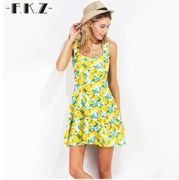 $enCountryForm.capitalKeyWord Canada - FKZ New Summer Dress Women Fruit Lemon Printed Sleeveless Sexy Dresses Mini Sundress Deep Square Collar Female Dresses SKQ1341#