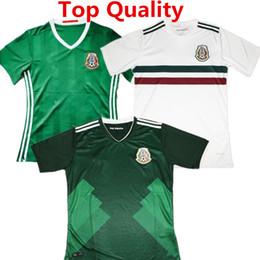 a54d8d4a87c Mexico Soccer Jerseys Canada - 2017 Mexico Soccer Jersey Javier Hernandez  camisas 2018 CHICHARITO G DOS