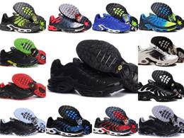3be28d3e5 Atacado 2019 TN PLUS Mens Moda Original Sneakers TN AIR SHOes Vendas TOP  Qualidade Barato França CESTA TN ReQUIN ChauSSures Tamanho 40-46