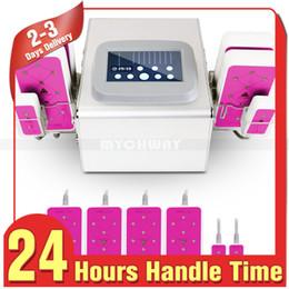 Beauty Salon Machines Canada - New 635 ~650nm Lipo Laser Slimming 5MW Lipo Laser 6 Pads Weight Loss Body Shaping Spa Salon Beauty Machine
