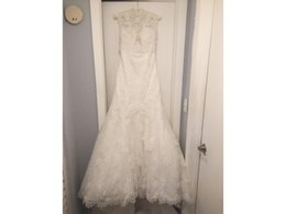 $enCountryForm.capitalKeyWord UK - Mermaid Bridal Wedding Dress Gown COR-582 Custom Made Sweetheart Lace Appliques Gorgeous Train With a Tulle Jacket Vestido