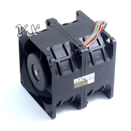 fan 6cm 12v UK - New 6076 6CM high speed car booster violent fans 12V 3A DFTA0676B2U 60*60*76mm