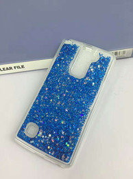 Wholesale Glitter Products Australia - For Samsung J727 J327 On5 G550 S8 S8 plus  S7 S7 edge Fashion Glitter water Liquid Quicksand Soft TPU High quality products