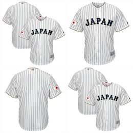 $enCountryForm.capitalKeyWord Canada - Men Japan 2017 World Baseball Classic Jersey White 100% Stiched Embroidery Logos Customized Cool Base Team Jerseys