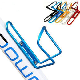 $enCountryForm.capitalKeyWord Canada - New Aluminum Alloy Bike Bicycle Water Bottle Holder Cages Rack Outdoor Sports Accessories Strong Toughness Durable Cycling Equipment