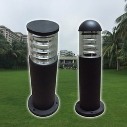 6479ea06aa3f8 Landscape post pole light lamp waterproof outdoor project Garden LED lawn lamps  pillar column light rod bollard light lamp outdoor pillar lights on sale