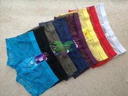 CoCkCon shorts online shopping - COCKCON Boxer Shorts For Men nylon breathable mesh Underwear sexy hollow shorts for man