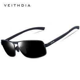 aa9a122ba9 polarized sunglasses Brand designer sunglasses for men UV400 protection HD  Fashion Driving glasses VEITHDIA Outdoor Sport Eyewear with box
