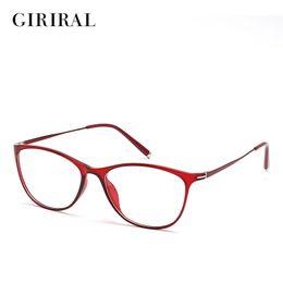 0ca3a7b89a8 Wholesale Designer Eyeglass Frames Canada - Wholesale- TR90 women eyeglass  frames round myopia brand clear