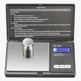 Coin Scale NZ - Wholesale Mini Pocket Digital Scale 0.01 x 200g Silver Coin Gold Jewelry Weigh Balance LCD