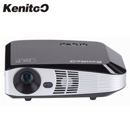 3d glasses dlp online shopping - Build in Wifi Android Smart DLP Projector K P D Projector Lumens Home Business Meeting Use With D Glass Free
