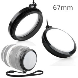 Dslr Camera Cap Canada - Wholesale-67mm White Balance WB Lens Cap for SLR DSLR DC DV Camera LENS 67 MM