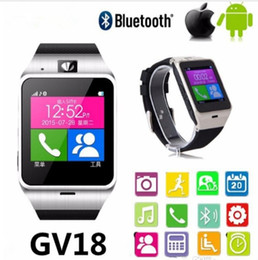 child gps tracker bluetooth smart watch NZ - Smart Watch Wearable Devices GV18 Aplus Children Kid Wristwatch Bluetooth Smartwatch Phone sport wristwatch Radio PK GT08 U8 M26