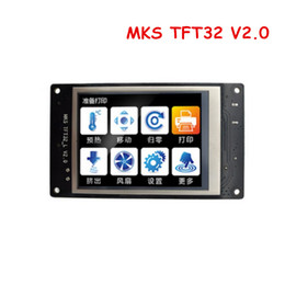 Touch Printer Canada - Freeshipping 3D Printer parts MKS TFT32 V2.0 smart controller display 3.2 inch touch screen support APP BT editing for MKS smoothieboard