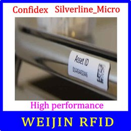Led Labels NZ - Wholesale- Confidex Silverline micro UHF RFID tag 915M EPC C1G2 ISO18000-6C small all surface rfid label with industry leading printing