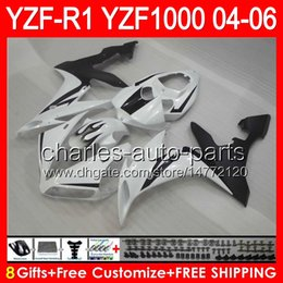 Silver black r1 fairing online shopping - gloss black gifts Body For YAMAHA YZF R1 YZF R1 NO33 YZF YZF R YZF1000 YZFR1 silver black Fairing