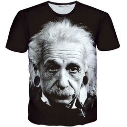 $enCountryForm.capitalKeyWord NZ - Albert Einstein T shirt Best scientist picture short sleeve gown Nice 1991Inc design tees Street printing clothing Unisex cotton Tshirt