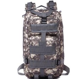 Travel fan online shopping - Men Women Outdoor Military Army Tactical Backpack Trekking Sport Travel Rucksacks Camping Hiking Trekking Camouflage BagThe army is a fan of