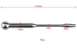 Dilation catheter online shopping - New Stainless Steel Urethra Bondage Penis plug Male Chastity Device Urethral sounds Dilation catheter Sex toys