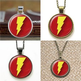 Marvel pendants online shopping - 10pcs Captain Marvel Logo Pendant Necklace keyring bookmark cufflink earring bracelet