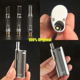 vape box mini 2019 - 2019 authentic vaping mod Ecig magnetic cartridge vape kit Hibron mini ce3 H10 box mod vaporizer 650mah battery 8W mods