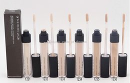 $enCountryForm.capitalKeyWord Canada - 6pcs Hot selling Radiant Creamy Concealer Liquid Foundation 6 colors brand Face Makeup Free shipping