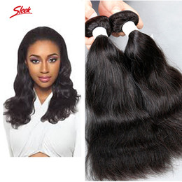 Sleek hair extensions wholesale canada best selling sleek hair sleek brand brazilian hair extensions dyeable natural wave human hair weave peruvian malaysian indian virgin hair bundles double weft pmusecretfo Gallery