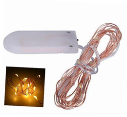 Chinese  NEW DHL Free Micro copper wire led string lights White coin battery operated 8 colors for clothes flower decoration MYY manufacturers