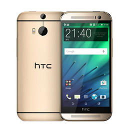 Wholesale Original HTC M8 Refurbished Smartphone GB RAM GB ROM Inch Cell Phone Quad Core WIFI GPS G Mobile Phone