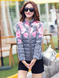 Down Shows Canada - More women winter new cultivate one's morality show thin brief paragraph cotton-padded jacket down jacket coat collar   M-2XL