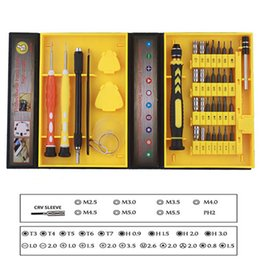 $enCountryForm.capitalKeyWord Canada - Wholesale- 2017 on Sale 38 in 1 New Cell Phone Screen Service Replacement Repair Kit Screwdriver Tool Set Professional Tool Opening Pry