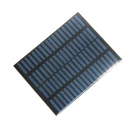 Chinese  High Quality 1.5W 18V Polycrystalline Solar Panel Module System Solar Cells DIY Charger For 12V Barttery 140*110MM Epoxy Free Shipping manufacturers