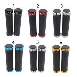 $enCountryForm.capitalKeyWord NZ - 1 Pair Mould Proof Skid Resistance Bicycle Handlebar Cover Grips Smooth Soft Rubber for Fixed Gear MTB Bike