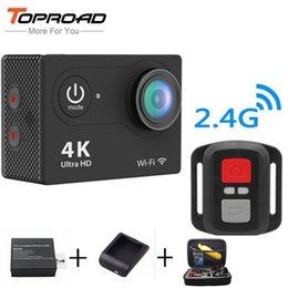 $enCountryForm.capitalKeyWord Canada - Wholesale-Ultra Full HD Upgrated 4K H9R WIFI Action Cameras 1080P 2.0 LCD 170 Lens with 2.4G Remote Control Mini Sports Video Camcorders