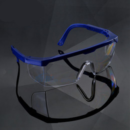 Vidro Policarbonato Claro Anti-Fog Lens Óculos De Segurança Com Polonês Multi-cor fFrame e Lente CLear frete grátis (7) em Promoção