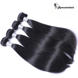 $enCountryForm.capitalKeyWord NZ - Romantic! 8A Grade Virgin Brazilian Hair Straight Brazilian Bundles Natural Color Human Hair Extensions 8-28 inch Great quality hair