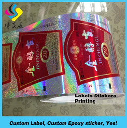 Round Stickers Roll Australia - colorful printing glossy paper labels permanent adhesive round sticker roll custom paper sticker label