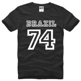 $enCountryForm.capitalKeyWord Canada - New Summer Brazil 74 T Shirts Men Cotton Short Sleeve O-Neck Printed Men's T-Shirt Fashion Male Sport Top Tees Fitness Clothing